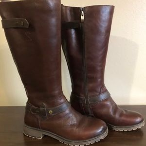 Naturalizer Real Leather Riding Boots WC